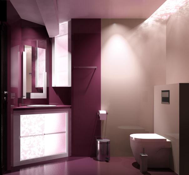баня в бордо и бежово