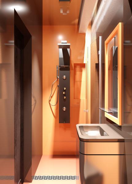оранжева баня