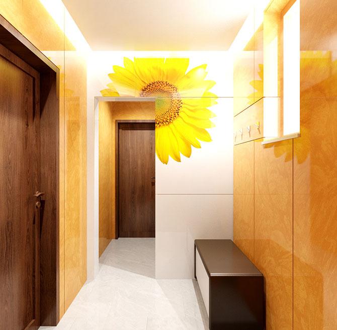 антре цветя слънчоглед картина