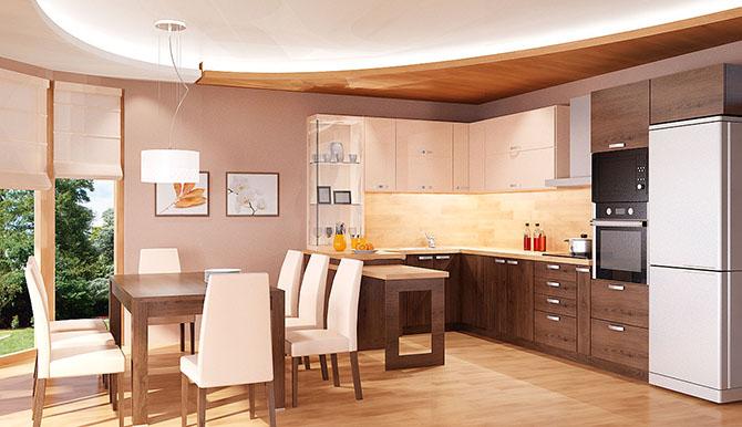 кухня и трапезария