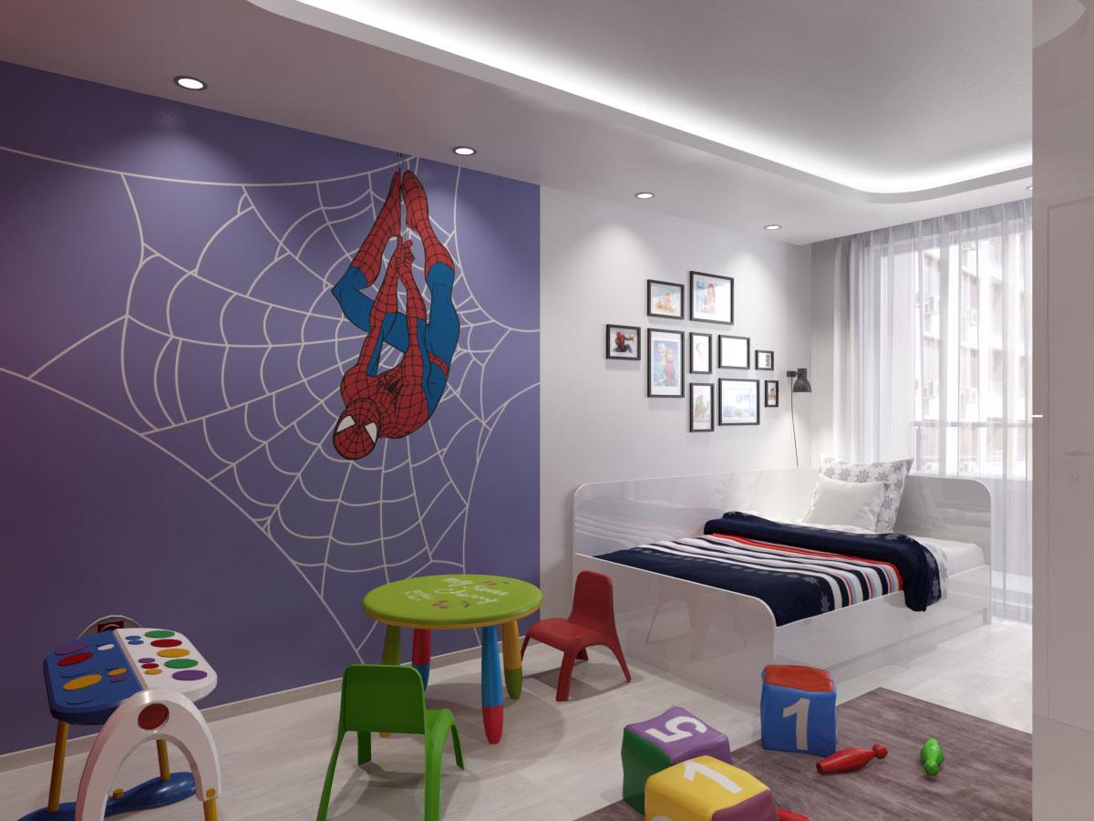 Декориране на детска стая с картини