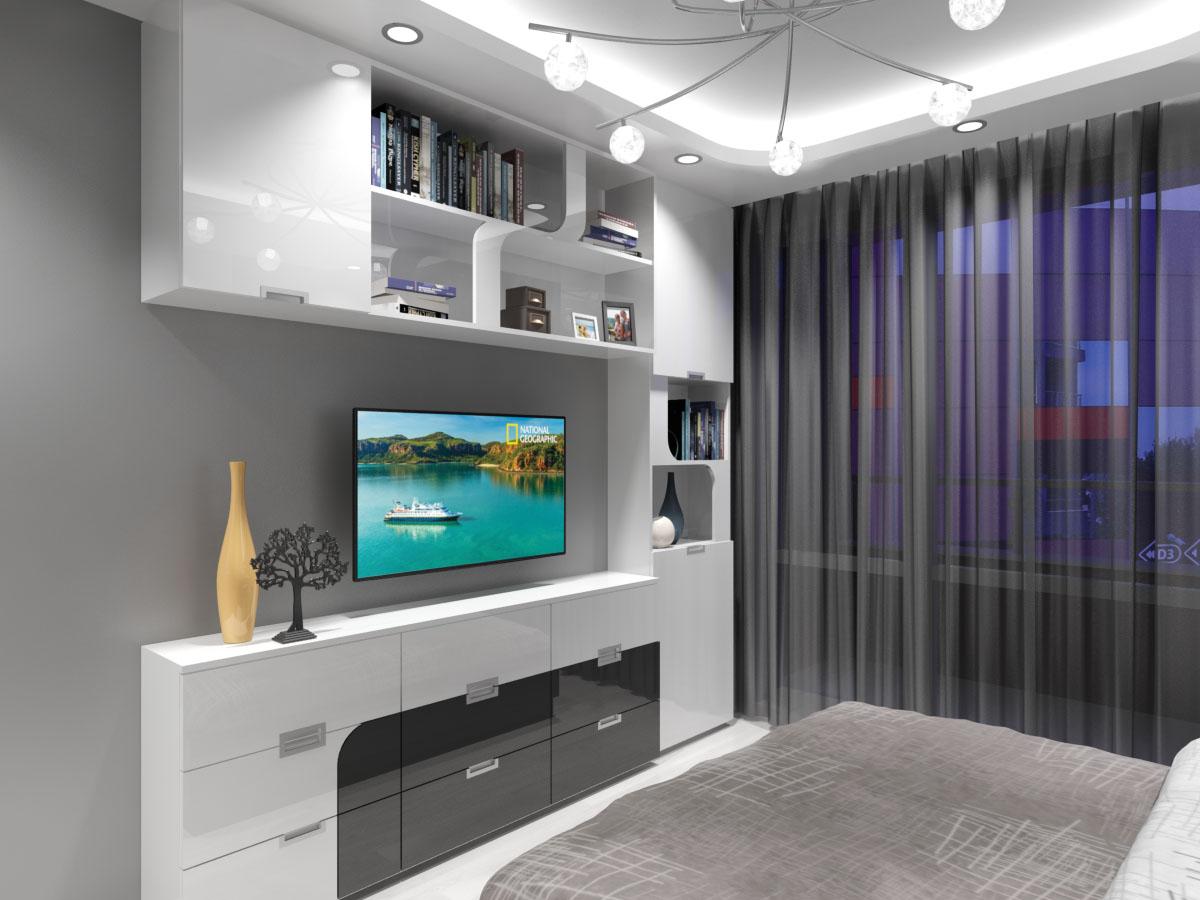Дизайн на етажерка за спалня