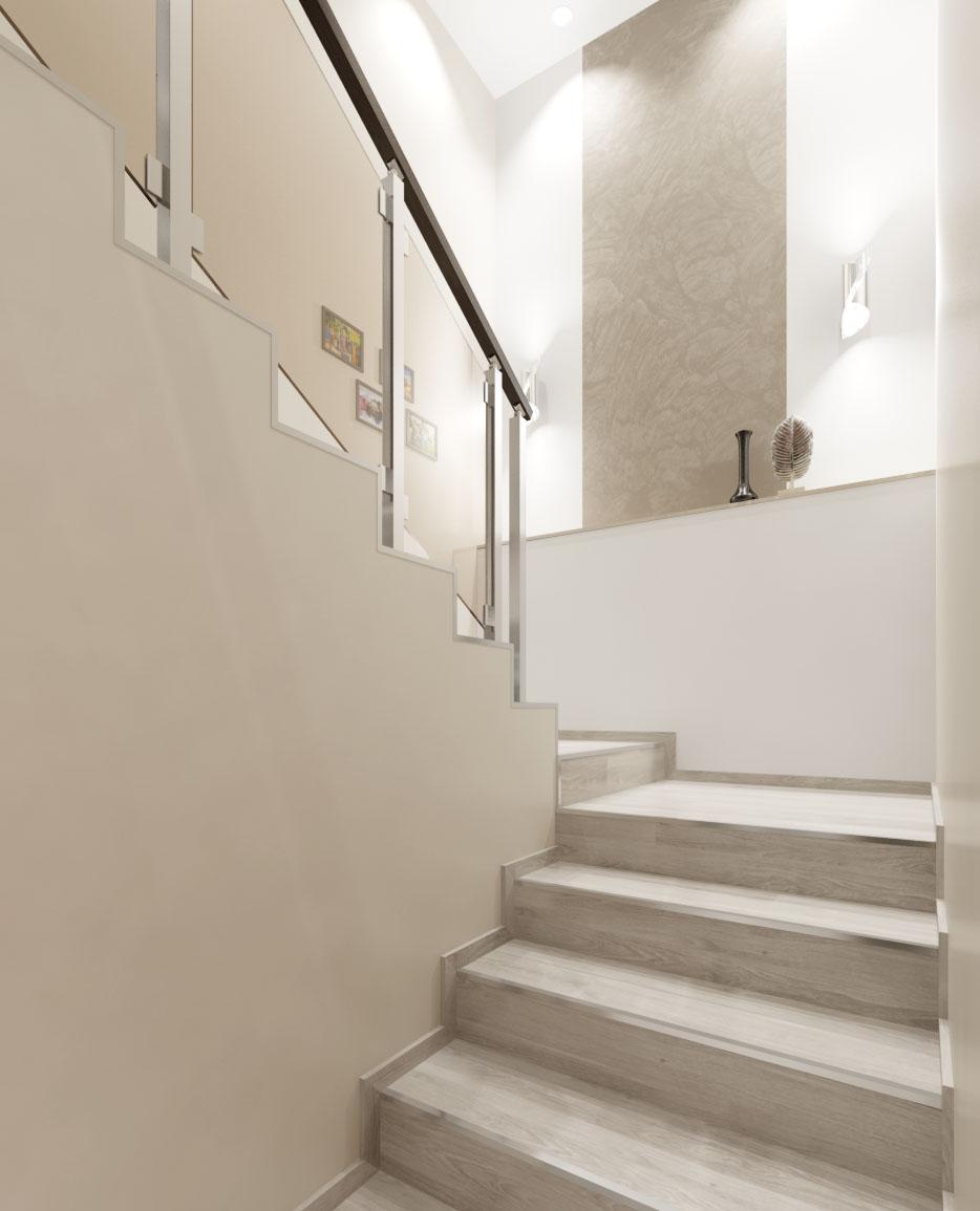 проект на стълбище